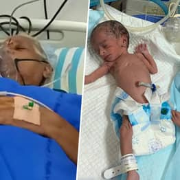 Woman Becomes World's Oldest Mum After Giving Birth To Twins Aged 73