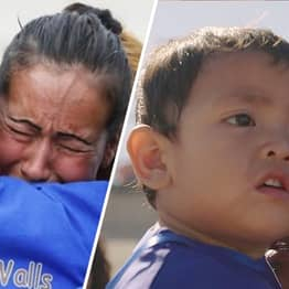 Families Separated By US Border Filmed In Powerful 3-Minute Hug Documentary
