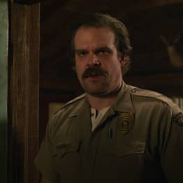 David Harbour Blurts Out Fate Of Hopper After Grilling During Live Sketch