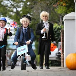Kids Are Dressing Up As Boris Johnson For Halloween Because Politics Is Scary