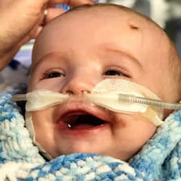 Baby Boy Defies Doctors By Waking From 5-Day Coma And Smiling At Father