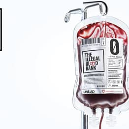 Introducing The Illegal Blood Bank