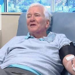 Man Who Donated 80 Gallons Of Blood Has Saved 1,920 Lives