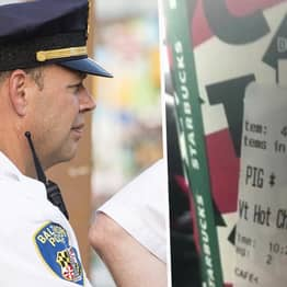 Police Officer Claims Starbucks Gave Him Drink With The Word 'Pig' On The Label