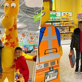 50 Cent Drops $100k To Rent Out Toys 'R' Us For Seven-Year-Old Son