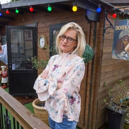 Wife Builds Pub In Back Garden To Stop Husband Sneaking Off For A Pint