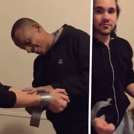 Man's Life-Saving Trick To Free Yourself From Duct Tape When Kidnapped Is Unbelievable