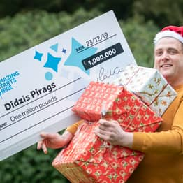 Chef Worked On Christmas Day Despite £1 Million Lottery Win