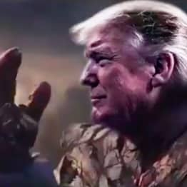 Trump Releases Video Of Him As Thanos, The Villain Who Commits Genocide