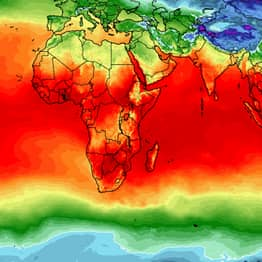 Global Average Temperature Map Shows Australia Is Literally On Fire