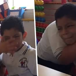 Video Of Boy With Down's Syndrome Comforting Classmate With Autism Goes Viral