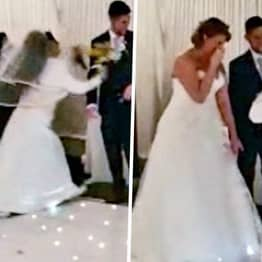 Bride Mortified As Woman Runs Into Wedding Screaming 'It Should've Been Me'