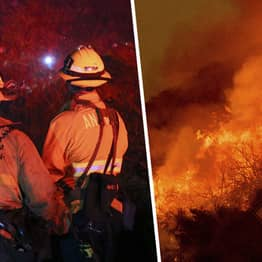 Canadian Firefighters Missing Christmas To Help Fight Australian Bushfires