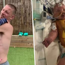 Dad Slept Rough Outside Hospital For 25 Days Until He Could Bring His Baby Home