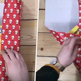 Genius Present Wrapping Hack Will Help Out Those Who Are Useless This Christmas
