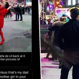 Girl Thinks Dad Is Having Christmas Affair In Influencer Photo, Gets It Horribly Wrong