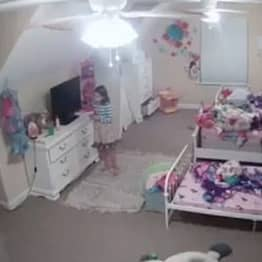 Mum Shares Video Of Hacker Talking To Daughter, 8, Via Camera In Her Own Bedroom As Warning