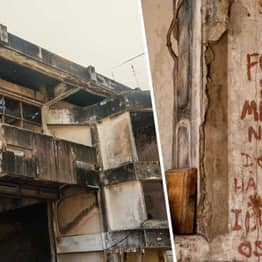 Photographer Finds Scrawled Message On Wall Of Abandoned Murder House