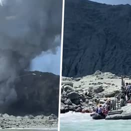 Survivors Of Volcano Eruption Being Treated Across New Zealand, Police Say