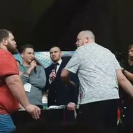Russian Slapping World Champion Knocked Out For First Time By A Rookie
