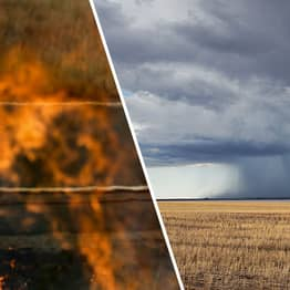 Huge Rain Bomb Set To Hit Drought-Ravaged Australia Gives Hope To Exhausted Firefighters