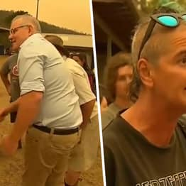 Australian PM Scott Morrison Runs Away From Bushfire Victims After They Confront Him