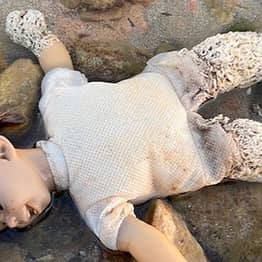 Spooky Chucky Doll Riddled With Worms Washes Up On Spanish Beach
