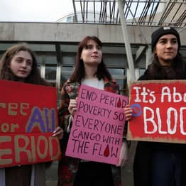 Scottish MSPs Back Bill To Make Sanitary Products Free For All In Landmark Move