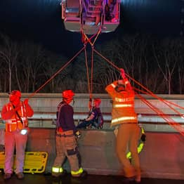 North Carolina Man Jumped Off 75ft Bridge To Avoid Oncoming Truck And Survived