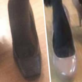 Man Pretending To Buy Women's Shoes Due To Foot Fetish Gets Perfect Response From Seller