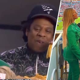 Jay-Z Responds To Critics After He Sat Down During The National Anthem At Super Bowl