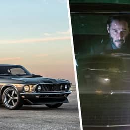 John Wick's 1969 Ford Mustang 'Hitman' Is Available To Buy