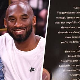 Kobe Bryant's Inspiring Message To Daughters Shown As Final Note In Memorial Program