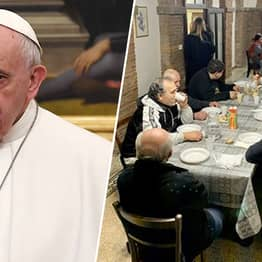 Pope Turns Vatican City Palace Into Refuge For Poor And Homeless