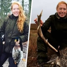 Trophy Hunting Twin 'Smiled From Ear To Ear' After Killing Her First Stag