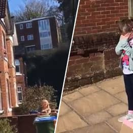 Whole Street Sings Happy Birthday To Eight-Year-Old Girl During Isolation