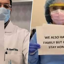 Doctors Rally Together To Share Important Message For Those They Protect