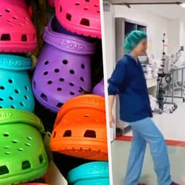 Crocs Giving Away Up To 10,000 Free Pairs Of Shoes A Day To Healthcare Workers