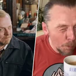 Simon Pegg Tells Nick Frost Not To Go To The Winchester And Wait For All Of This To Blow Over