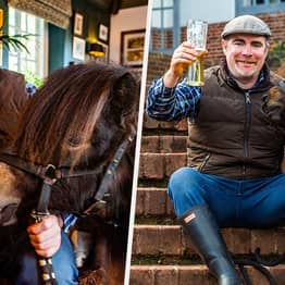 Shetland Pony Called Patrick Goes To Pub In Devon Every Day For A Guinness