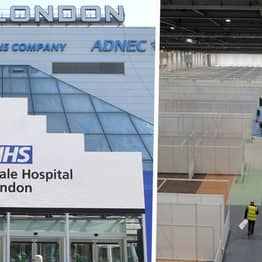 Inside London's ExCel Centre As It's Transformed Into Hospital For 4,000 Patients