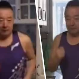 Chinese Pensioner, 66, Runs 318 Miles In Living Room While Self-Isolating