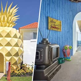 SpongeBob SquarePants' Pineapple Home Has Been Made Into A Villa You Can Rent