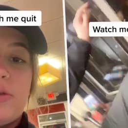 Chicago Teen Jumps Out Drive-Thru Window After Boss Calls Her 'Lost Cause'