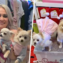 Glasgow Woman Spends £13k A Year On Designer Clothes, Gourmet Food And Gifts For Her Dogs