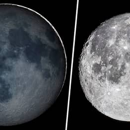 'Planetshine' On The Moon Will Be Visible In The Sky Tonight