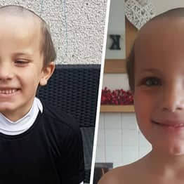 London Five-Year-Old Given Hilarious 'Old Man' Haircut By Brother In Isolation