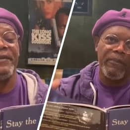 Samuel L. Jackson Reads Bedtime Story Called Stay The F*ck At Home