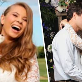 Bindi Irwin Paid Tribute To Her Dad And Mum With Her 'Special' Wedding Dress
