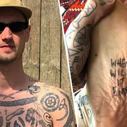 London Guy Gives Himself A Tattoo For Every Day In Lockdown